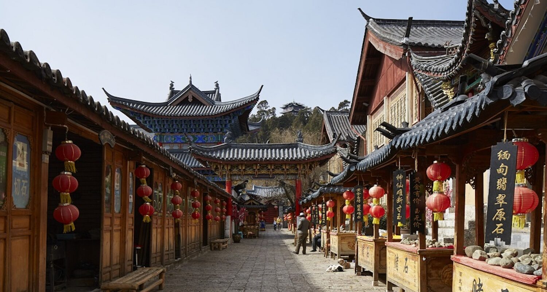 Amandayan, China - Lijiang Old Town