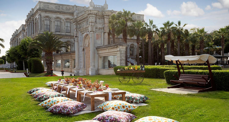 Die schönsten Outdoor-Erlebnisse im Çırağan Palace Kempinski Istanbul