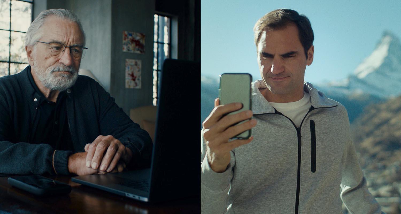 Wieso Roger Federer und Robert De Niro für die Schweiz werben