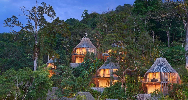Phuket: Diese Villen in Vogelnest-Optik sind eine Reise wert