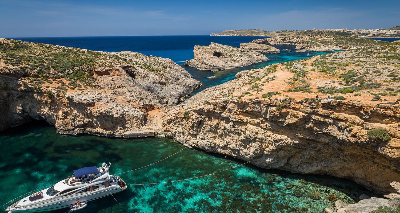 8. Gozo Crystal Lagoon