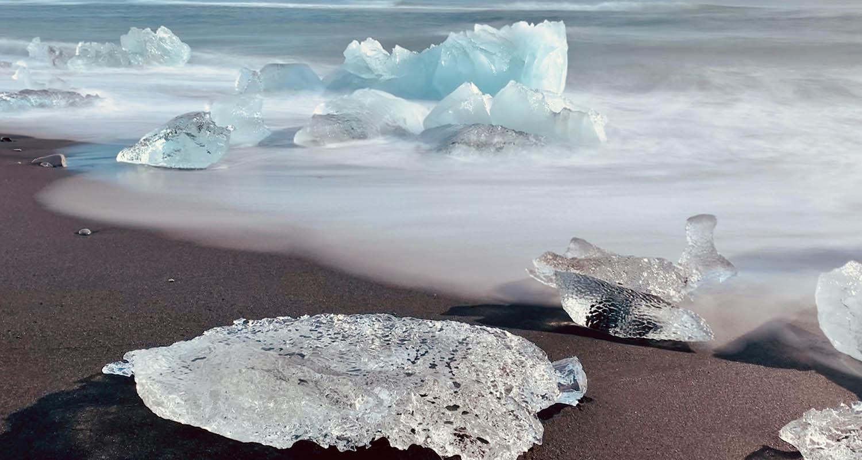 Spektakuläres Reiseerlebnis: Der Diamantstrand in Island