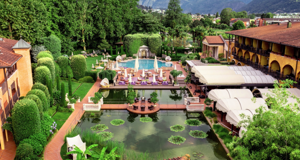 Luxushotel Giardino Ascona renoviert