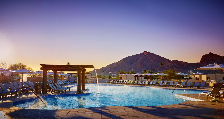 Scottsdale: Im Marriott Hotel kann man einen eigenen Trakt nur für sich buchen