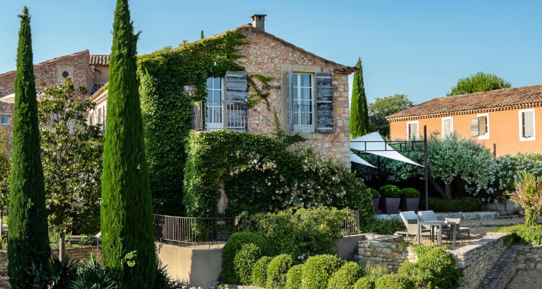 Herbst in der Provence Coquillade