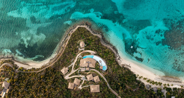 Luxusinsel in der Karibik - Moskito Island